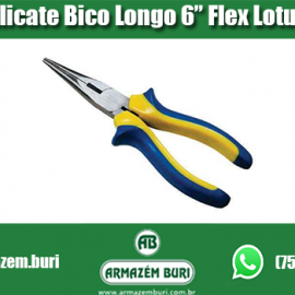 Alicate Bico Longo 6″ Flex Lotus