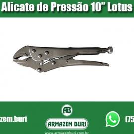 Alicate Pressão 10″  Flex Lotus